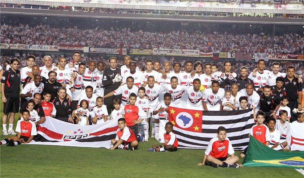 Сан паулу 2007 г чемпион бразилии